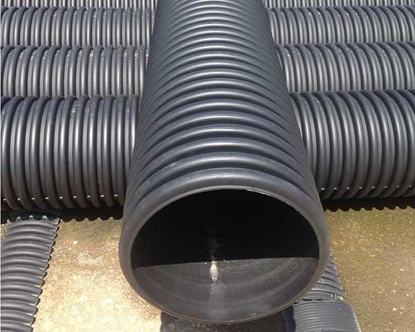 HDPE钢带增强管的用量增长速度在逐年增加